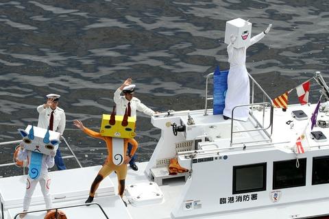臨港消防署 「はやて」 フェアウェルパレード 東京みなと祭
