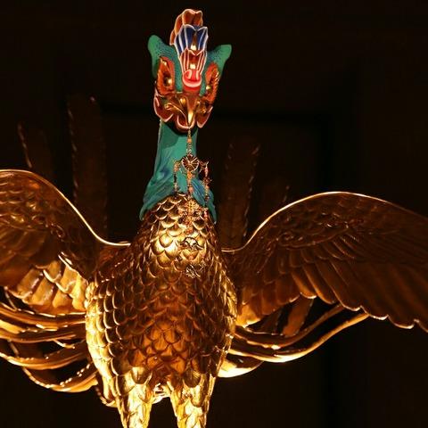 鳳凰 特別公開 高御座と御帳台 東京国立博物館