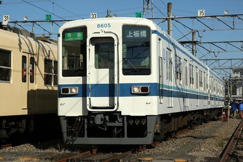 8000系 (2両) 東武東上線 森林公園ファミリーイベント