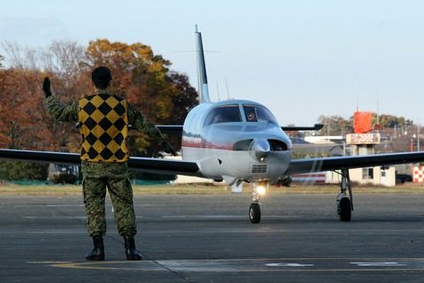 JA4030 Piper PA-46-310P Malibu 帰投 陸上自衛隊 立川防災航空祭