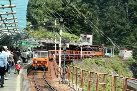 黒部峡谷鉄道 トロッコ電車 欅平駅