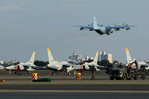 85-1080 C-130H 帰投 入間航空祭2017 航空自衛隊 入間基地
