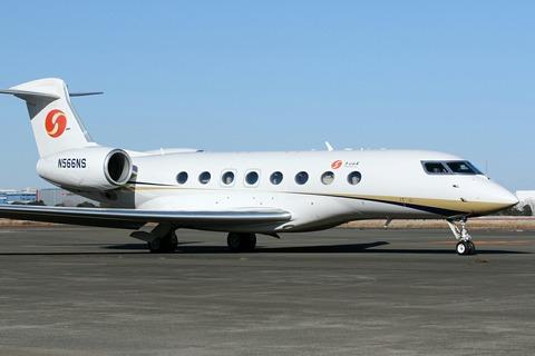 N566NS Gulfstream G650 RJTT