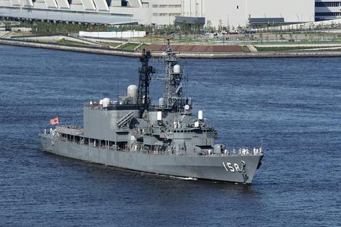 DD-158 護衛艦うみぎり カナダ海軍ホストシップ レインボーブリッジ