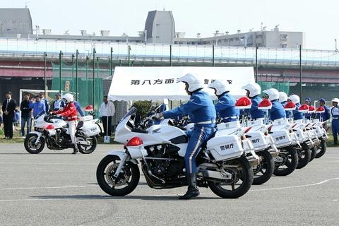 クイーンスターズ ドリル走行 第42回警視庁白バイ安全運転競技大会