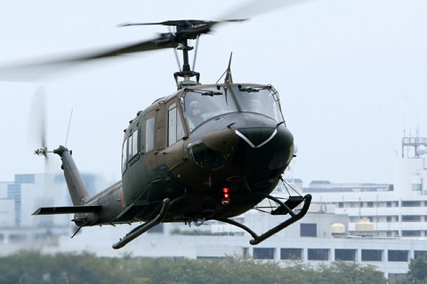 UH-1 Iroquois Huey 多用途ヘリコプター 立川防災航空祭 立川駐屯地