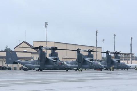CV-22 Osprey アメリカ空軍 横田基地日米友好祭