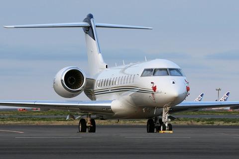 N889ST Bombardier BD-700 Global5000 RJTT