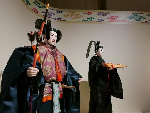 威儀物奉持者 束帯 文官 特別公開 高御座と御帳台 東京国立博物館