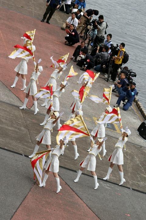 東京消防庁 カラーガーズ隊 東京みなと祭