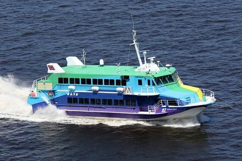 東海汽船 セブンアイランド 虹 レインボーブリッジ