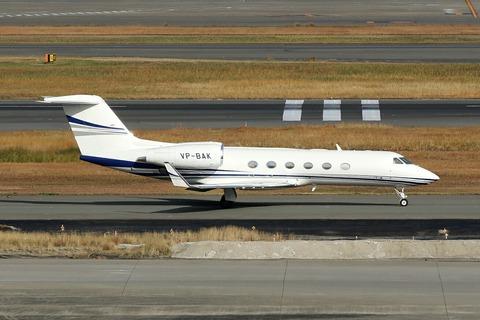 VP-BAK Gulfstream G450 RJTT