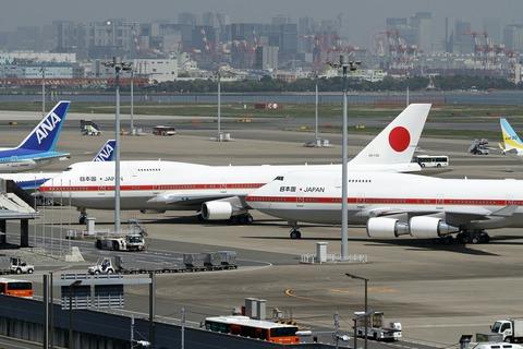 20-1101 20-1102 B747-400 日本国政府専用機 Two-Shot RJTT