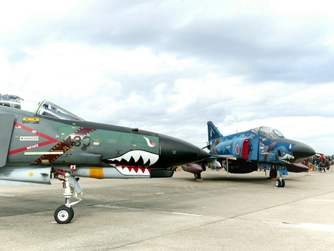 RF-4E RF-4EJ 地上展示機 百里基地航空祭 航空自衛隊