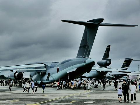 C-2 KC-10 C-17 地上展示機 アメリカ空軍 横田基地日米友好祭