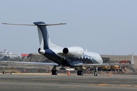 VP-CPD Gulfstream G550 RJTT