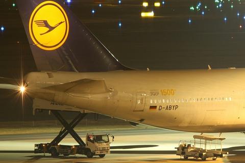 D-ABYP B747-8IC DLH BOEING747 1500th RJTT