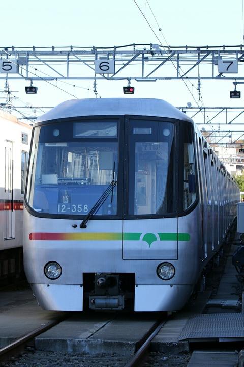 大江戸線 12-000形 車両撮影会 都営フェスタ2017in浅草線