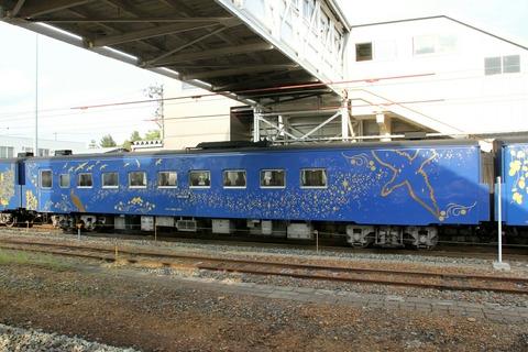 キサハ144-701 SL銀河 花巻駅