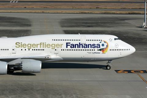 D-ABYI B747-8IC DLH Fanhansa Siegerflieger RJTT