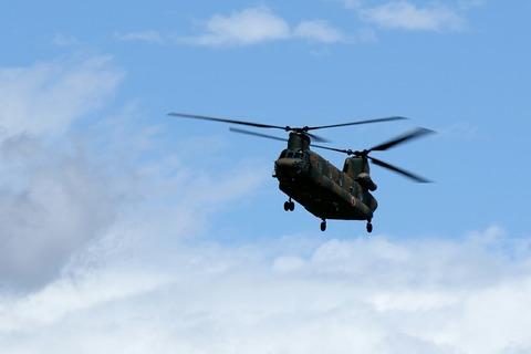 52934 CH-47J 陸上自衛隊 北宇都宮駐屯地 開設46周年記念行事