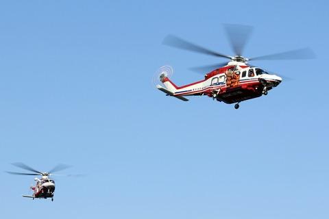 JA131Y JA152Y AW139 横浜市消防局航空隊 横浜消防出初式
