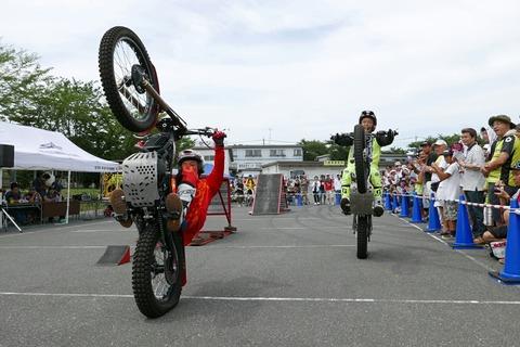 トライアルバイク&マイクパフォーマンス オートジャンボリー2018