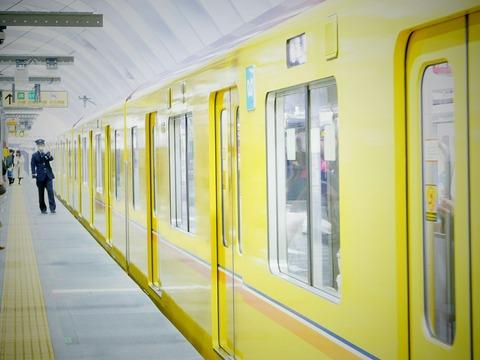東京メトロ1000系 銀座線 渋谷駅