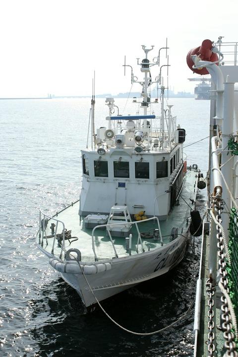 CL164 巡視艇 たまかぜ 第44回川崎みなと祭り 川崎港東扇島