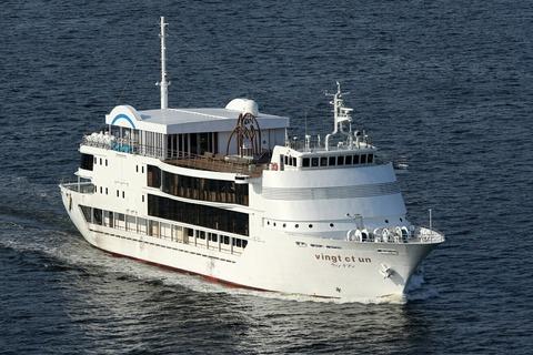 レストラン船 ヴァンテアン レインボーブリッジ