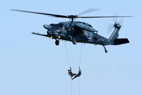 UH-60J 救難展示 入間航空祭2018 航空自衛隊 入間基地