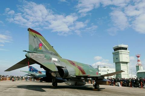 07-6433 RF-4EJ ファントムⅡ 501SQ final year 2020 百里基地航空祭