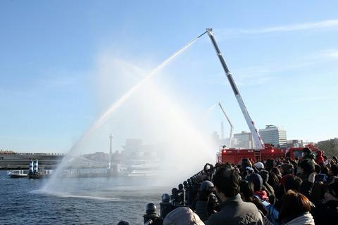 第2部 一斉放水 横浜消防出初式