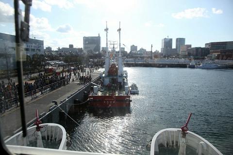 消防船ひりゆう 横浜消防出初式