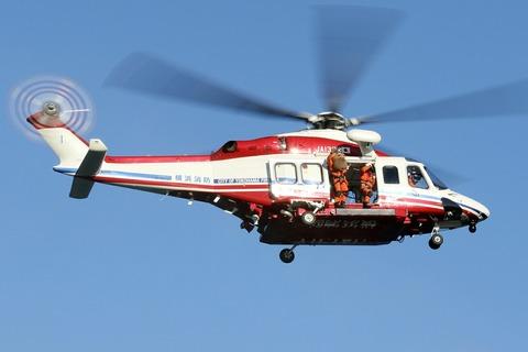 JA131Y AW139 はまちどり1 横浜市消防局航空隊 横浜消防出初式