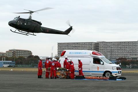 災害救助活動展示 立川防災航空祭 2012.11.11
