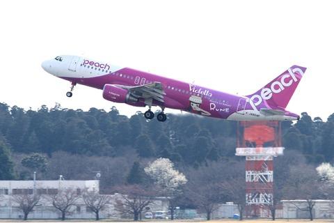 JA804P A320-200 APJ Violetta RUNE GIRL RJAA