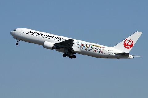 JA656J B767-300 JAL ドラえもんジェット RJTT 2013.1.20