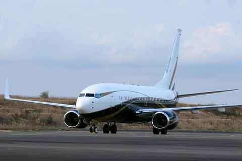 9H-GGG B737-700BBJ Maleth-Aero RJTT