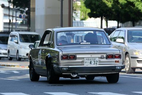 74 NISSAN SKYLINE GTR 1971 RALLY YOKOHAMA 2017