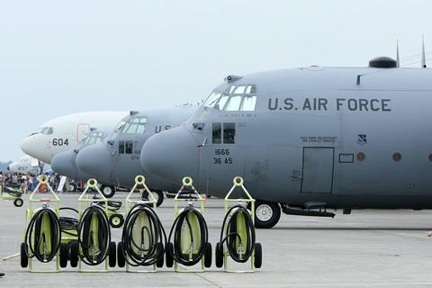 地上展示機 C-130 RJTY 横田基地日米友好祭