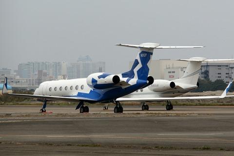 N312P Gulfstream G550 RJTT