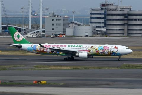 B-16332 A330-300 EVA Sanrio Characters Dream Jet RJTT