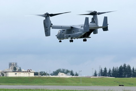 0074 CV-22 Osprey 飛行展示 アメリカ空軍 横田基地日米友好祭
