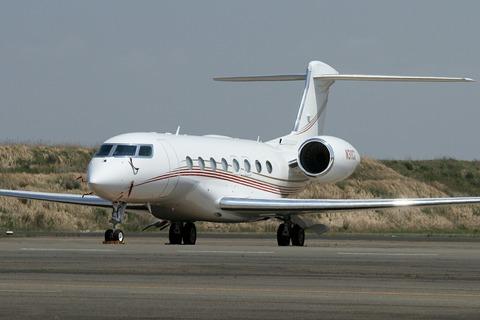N311CG Gulfstream Aerospace G650 RJTT