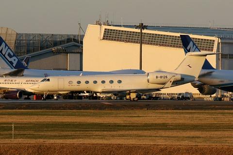 B-8126 Gulfstream G550 RJAA