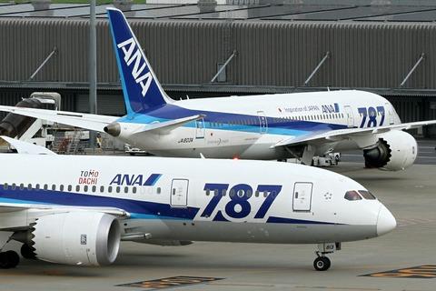 JA813A JA803A B787-8 ANA Two-Shot RJTT
