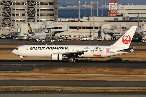 JA622J B767-300 JAL ドラえもんJET RJTT