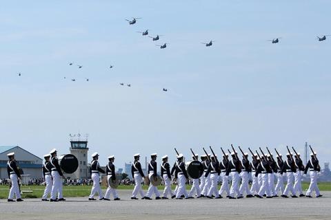 防衛大学校儀仗隊 編隊飛行 木更津航空祭 陸上自衛隊 木更津駐屯地