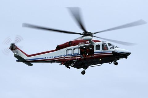JA152Y AW139 横浜消防出初式